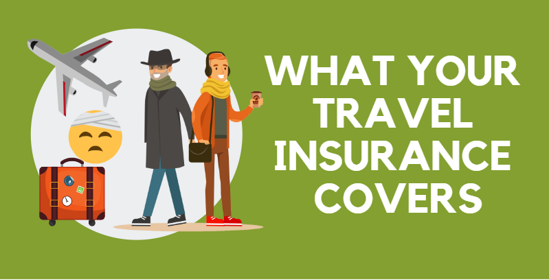 Infographic: What A Standard Travel Insurance Policy Covers