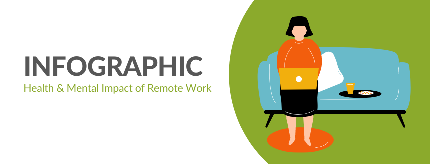 Infographic: Health & Mental Impacts of Remote Work