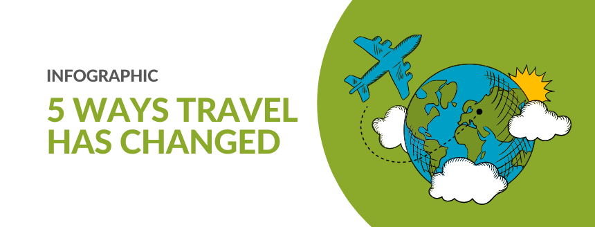 Infographic: 5 Ways Travel Has Changed